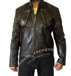 $179.00 - Lockout Snow Leather Jacket