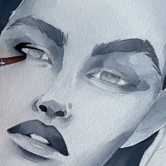 How I paint eyes by Polina Bright The post Wie ich Augen male von Polina Bright appeared first on Frisuren Tips - People Drawing Art Watercolor, Watercolor Portraits, Watercolor Portrait Tutorial, Painting Portraits, Bright Art, Bright Eyes, Inspirational Artwork, Dark Fantasy Art, Art Sketchbook