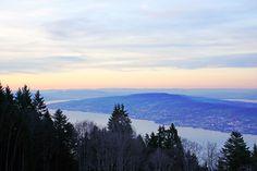 Zurichsee from Etzel Kulm Switzerland by Andrey Sulitskiy Switzerland, Celestial, Explore, Mountains, Sunset, Nature, Travel, Outdoor, Outdoors