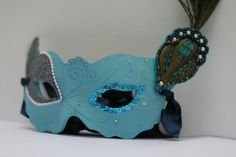 DIY Halloween Costume : DIY: Masquerade Mask  DIY Halloween