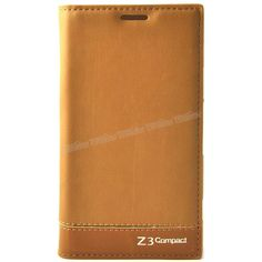 Sony Xperia Z3 Mini Flip Cover Kılıf Kahverengi -  - Price : TL29.90. Buy now at http://www.teleplus.com.tr/index.php/sony-xperia-z3-mini-flip-cover-kilif-kahverengi.html
