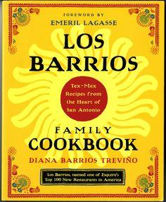 Trevino, Diana Barrios. Los Barrios family cookbook: Tex-Mex recipes from the Heart of San Antonio. New York: Villard, 2002. P. 89 [TX715.2 .S69 T74 2002]. By Katherine Valdez, an undergraduate nut...