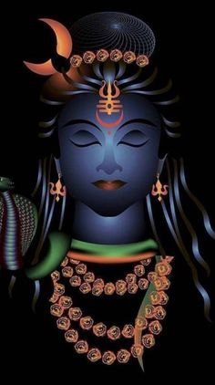 Shiva is a pan-Hindu deity, revered widely by Hindus, in India, Nepal and Sri Lanka Arte Shiva, Mahakal Shiva, Shiva Art, Rudra Shiva, Shiva Statue, Krishna Art, Lord Shiva Names, Lord Shiva Family, Monat August