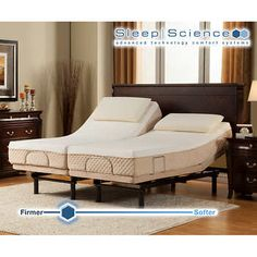 Sleep Science Black Diamond Twin XL Memory Foam Mattress with Adjustable Base Supportive Specialty Hybrid Memory Foam and Latex Hybrid Mattress. Two Density Memory Foam Comfort Layers, with of Supportive Latex. Best Mattress, Foam Mattress, Adjustable Base, Bathroom Furniture, Twin Xl, Furniture Projects, Home Remodeling, Memory Foam, Mid-century Modern