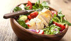 Bunter LOGI-Salat mit Putenbrust Rezept 17