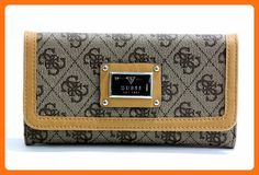 GUESS Women's Scandal SLG Slim Clutch Brown Clutch - Clutches (*Amazon Partner-Link)