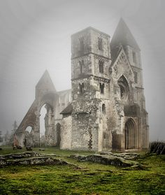 Ruins of an 800 year old Baroque Church{Hungary}