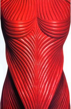 The muscle sinew suit of armour for Francis Ford Coppola's Dracula, designed by Eiko ISHIOKA (1938-2012), Japan
