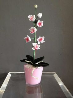 71 Beste Afbeeldingen Van Orchidee Crochet Flowers Crochet Cactus
