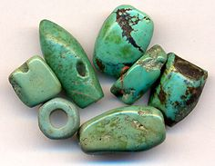Ancient Torquoise Beads