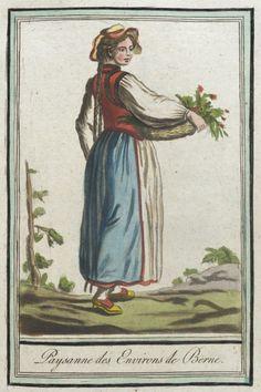Costumes de Différents Pays, 'Paysanne des Environs de Berne' | LACMA Collections