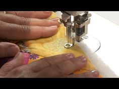 How to Use Scribble Stitch Techniques for Free Form Quilt Designs with Cindy Needham