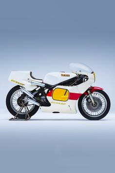 This 1980 Yamaha TZ500 is being sold at auction in Japan with a kit of spare parts and tires. And it's never been started up in its life. Bobber Motorcycle, Motorcycle Quotes, Triumph Motorcycles, Custom Motorcycles, Custom Bikes, Girl Motorcycle, Indian Motorcycles, Yamaha Bikes, Triumph Speed Triple
