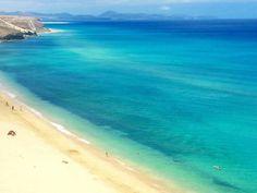 """Playa de Mal Nombre - Sur de Fuerteventura ¿Qué más se puede pedir?. """"smile""""-Emoticon Foto de Home Canarias"""