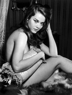 Jane Fonda, photographed by Peter Basch (1962)
