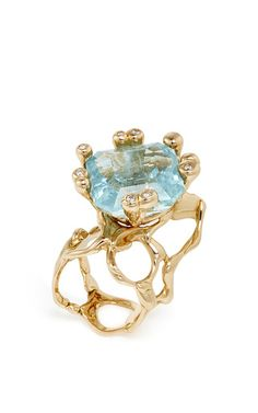One of a Kind Parrucchino Ring by Lucifer Vir Honestus for Preorder on Moda Operandi