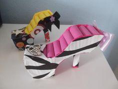como fazer organizador de anél em formato de sapato