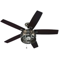 harbor breeze lilly rae ceiling fan 50 lowes the candelabra