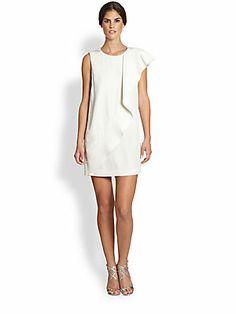 Love this dress. Cynthia Rowley Silk Ruffle Dress