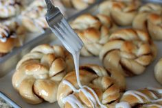 Simply So Good: GIANT Cinnamon Twists