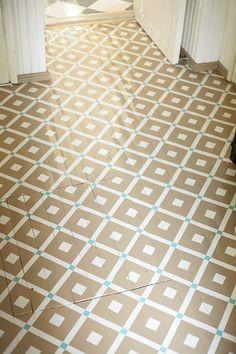 Diagnoosi:sisustusmania: D.I.Y. Decor, Home, Dream Cottage, Inspiration, Flooring, Tile Floor, Painted Floors, Interior, Kitchen