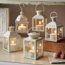 Five Piece Assorted Lantern Set