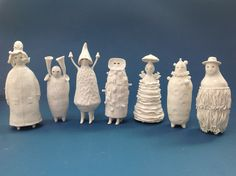 some of the wonderous ceramics of Sophie Woodrow