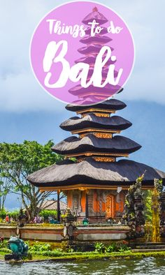 Things to do in Bali pin picture