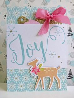 MME Sugar Plum - Joy card