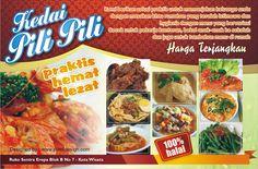 Contoh Banner Iklan makanan