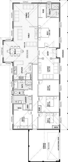 The Rural Retreat floorplan