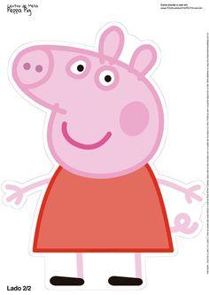 Centro de Mesa Peppa Pig Toten Display 2 Centro de Mesa Peppa Pig Toten Display 2 - Fazendo a Nossa Festa Peppa Pig Images, Peppa Pig Cartoon, Peppa Pig Birthday Decorations, Peppa Pig Birthday Cake, Peppa Pig Pinata, Tortas Peppa Pig, Cumple Peppa Pig, George Pig, Stencil