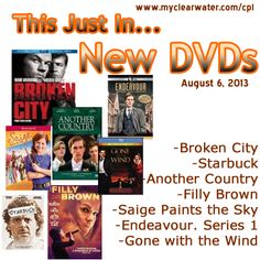 New DVDs August 6, 2013