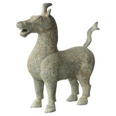 Tarpan Horse - Antique Bronze
