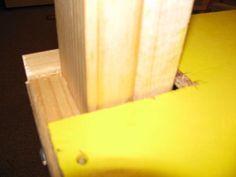 corner cuts and floor panels screwed in Playroom Slide, Reading Loft, Wood Work, Corner, Woodworking, Indoor, Flooring, Projects, Interior