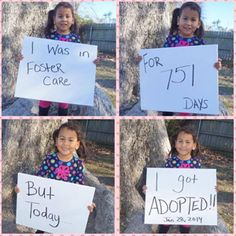 Viral Adoption Photo Hopefully more photos like this will raise awareness about foster adoptions!  @SheKnows