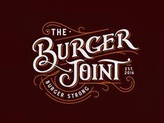 The Burger Joint by Srdjan Vidakovic #Design Popular #Dribbble #shots