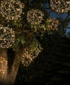 11 Ways to Love String Lights All Year: DIY Light Globes