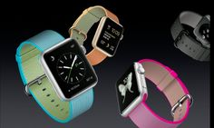 New Apple Products: Apple watch nylon bands