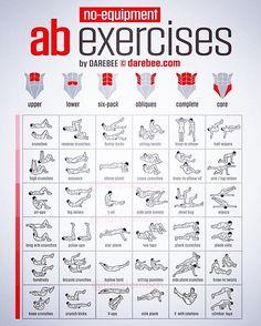 AB exercises @flatstomach #cardioexercises