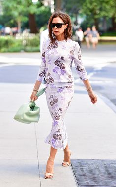 Victoria Beckham from Best Celeb Street Style From NYFW Spring 2017