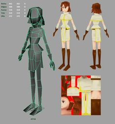 LOWPOLY (sub 1000~ triangle models) - Page 41 - Polycount Forum