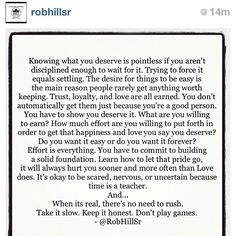 robhillsr quotes | Words so true. #repost via @robhillsr - @Lisa Phillips-Barton ... | Quotes (A Sweet...