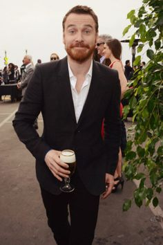 Michael Fassbender at the Film Independent Spirit Awards 3.1.14