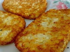 home-made mcdonald's hashbrowns!