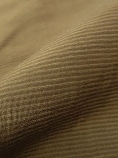 Nutmeg Brown Striped Cotton/Nylon Suiting 58W