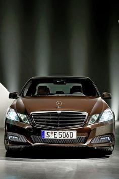 Brown Mercedes