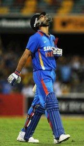 The disappointing Virat Kohli