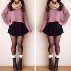 || Casual & Classy || Autumn & Winter || Good For: Fancy restaurant, date, cold holiday || Where would you wear this outfit? ||