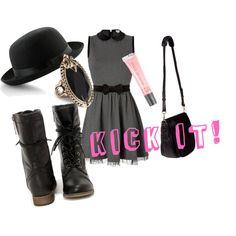 """Kick It Katie"" by dasbad on Polyvore"